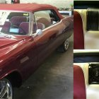 1968 Caddilac Convertable - factory location speaker upgrades.