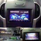 2015 Isuzu mu-X with a Kenwood DNX9170DABS DVD/Navigation/Carplay/Andriod auto unit with a facia kit by Stinger. As well as one of Kenwood's DRV-N520 Drive Assist Camera which can be operated from the DVD/NAV unit.