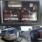 Camper Trailer with a Full Battery Management System with a couple of deepcycle batteries, master battery switch as well as inside a couple of accessory sockets.
