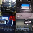 Audi A3 replacement factory style Navigation unit with Reverse Camera and Crash Camera