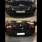 BMW front and rear parking sensors