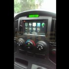 Hyundai Iload 2013 - Axis 1208NAV with Reverse camera & steering controls